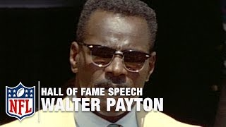 Walter Sweetness Payton Hall Of Fame Speech Nfl Network