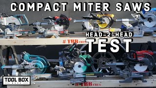 BEST Compact Cordless Miter Saw - HEAD-TO-HEAD