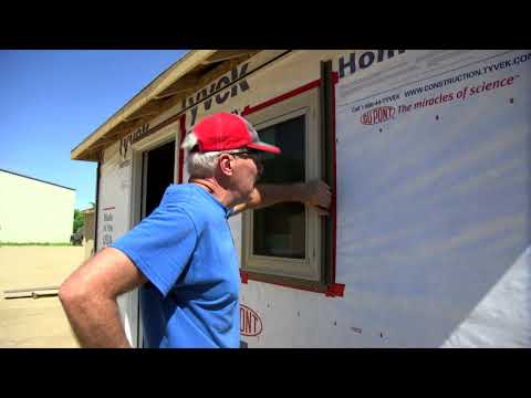 Siding Installation: Trimming Doors Windows