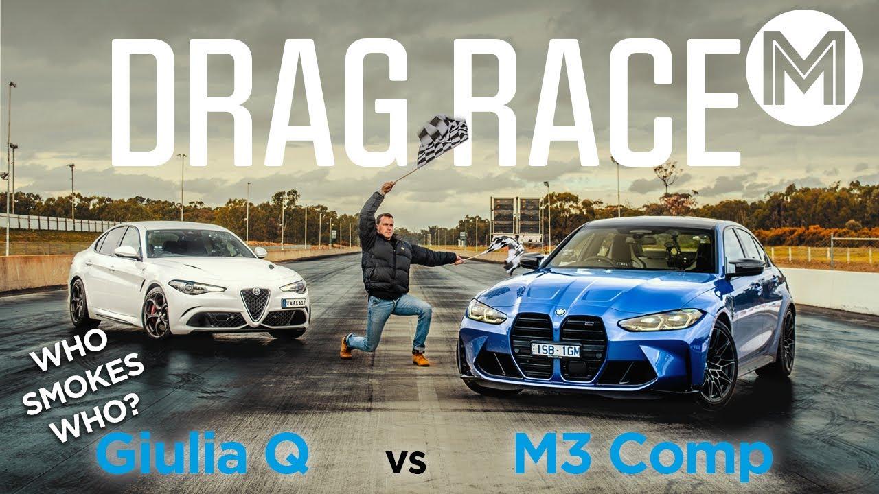 Download BMW M3 Comp vs Alfa Romeo Giulia Q - Wet track meets 1000hp | MOTOR MP3 Gratis