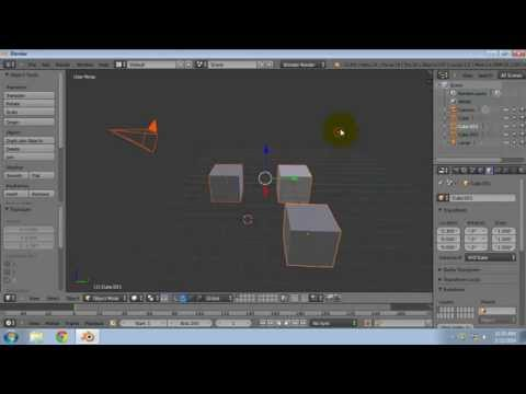 Active Object in Blender
