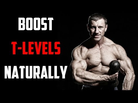 5 SIMPLE STEPS TO NATURALLY INCREASE TESTOSTERONE LEVELS