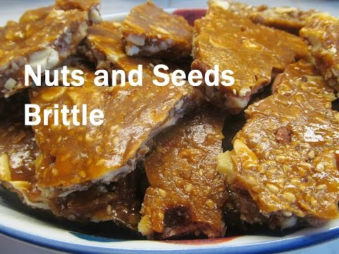 Nuts and Seeds Brittles / Recipe#184
