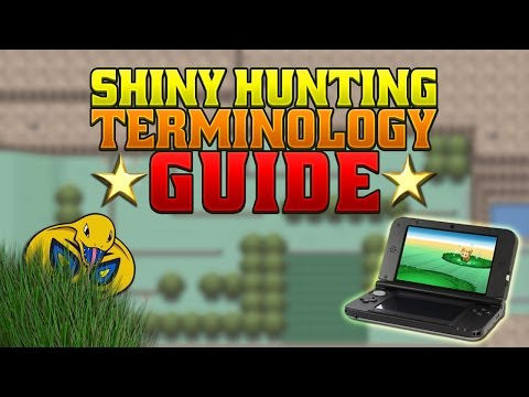 Complete Pokémon Shiny Hunting Terminology Guide