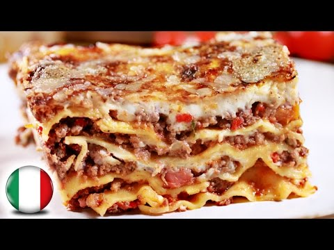 Authentic Italian Lasagna Recipe | FAMOUS ITALIAN FOOD
