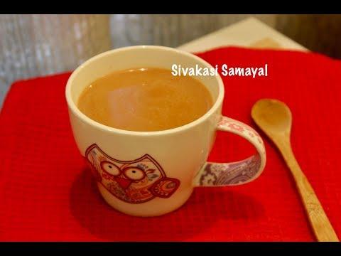 Masala chai / Masala tea / Sivakasi Samayal / Recipe - 463