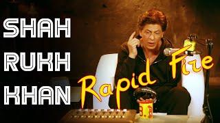 What SRK does when stuck in traffic ? | Shah Rukh Khan | Rapid Fire | Radio Mirchi | Filmy Mirchi