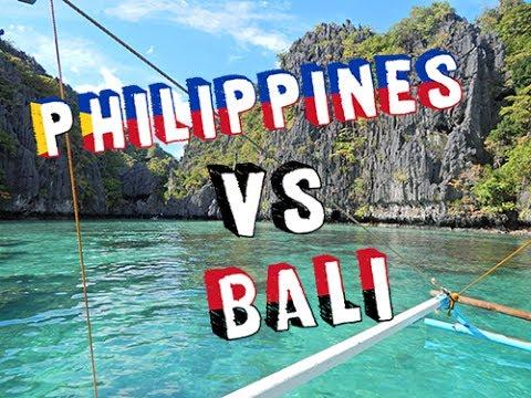 Philippines vs Bali