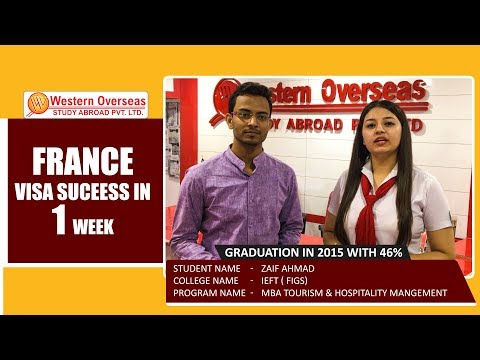 France Student Visa in 7 Days - Western Overseas