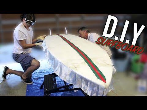 D.I.Y SURFBOARD