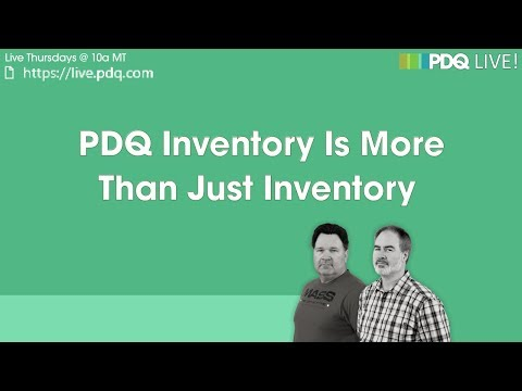 PDQ Live! : PDQ Inventory Is More Than Just Inventory