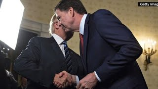 Friend: Comey was disgusted by Trump hug