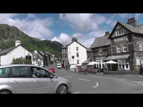 Coniston Town Centre, Lake District, July 2016