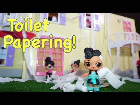LOL SURPRISE DOLLS House Gets Toilet Papered!