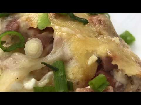Ham and Hash Brown Casserole Recipe - Crowd Pleasing Breakfast Bake to Make Ahead