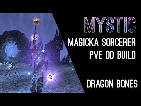 Magicka Sorcerer PvE Build