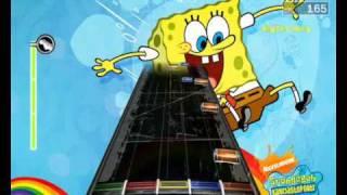 FretsOnFire - spongebob - goofy goober rock (with lyrics !)
