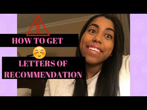 How to Get Strong Letters of Recommendation | Pre-Health Advice