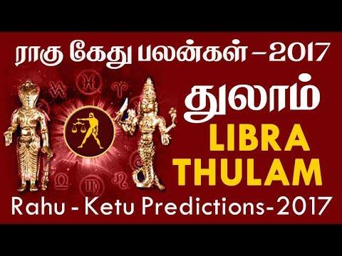Rahu Ketu Peyarchi Transit Horoscope for Thulam Rasi (Libra) Predictions 2017