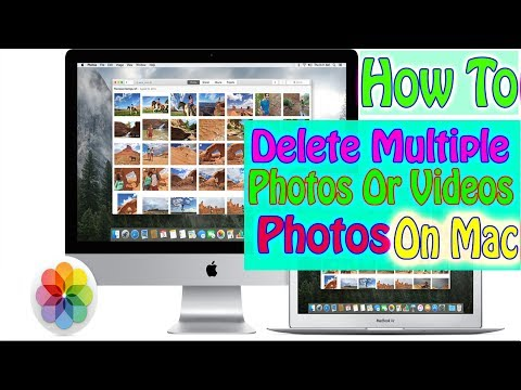 How to Batch Delete Pictures Or Videos from Photos app On Mac Macbook iMac Macbook Pro Or Air