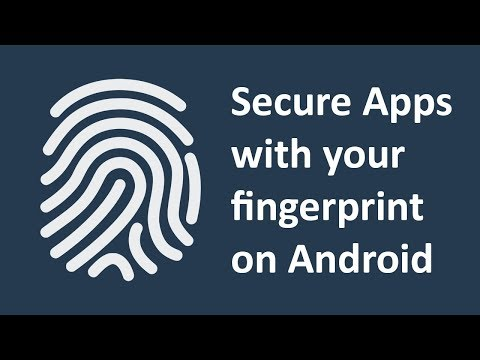 How to lock apps with fingerprint sensor on Android