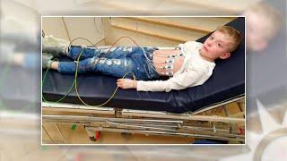 """Nioårige Melvin insjuknade i covid-19 – """"Hela hans hud brann""""  - Nyhetsmorgon (TV4)"""