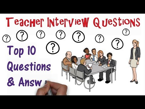 Teacher Interview Questions: Top Ten