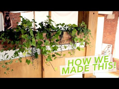 DIY BALCONY PLANTER BOX