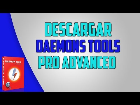 Descargar e instalar Daemons Tool Pro Advanced con licencia pagada 2015