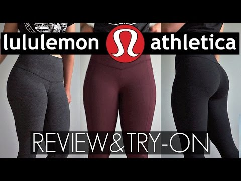 Legging Review & Try-On Lululemon | Wunder Under, Hight Time, All The Right Places Leggings