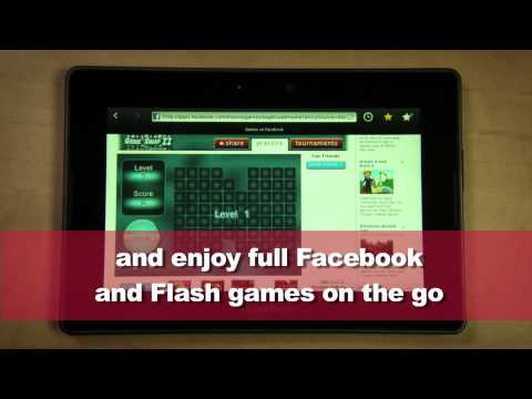 BlackBerry PlayBook -- 5 Ways it owns iPad for video