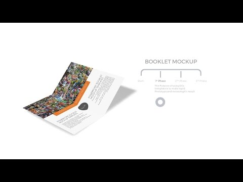 Booklet Powerpoint Mockup Templates