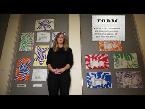 Elements and Principles of Design:  Using Language to Create Visual Art (Virtual Tour)