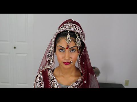 Indian Bridal Dupatta Setting | keepingupwithmona