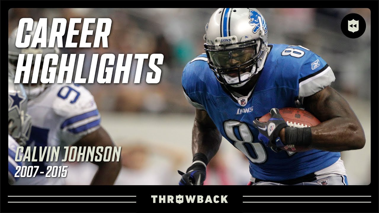 Calvin Johnson: MEGATRON | NFL Legends Highlights