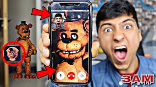DO NOT FACETIME FREDDY FAZBEAR'S PIZZA AT 3AM!! *OMG HE CAME TO MY HOUSE*
