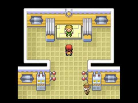 Pokémon Fire Red Walkthrough ~Part 17~ Vermilion City Gym Leader Lt. Surge