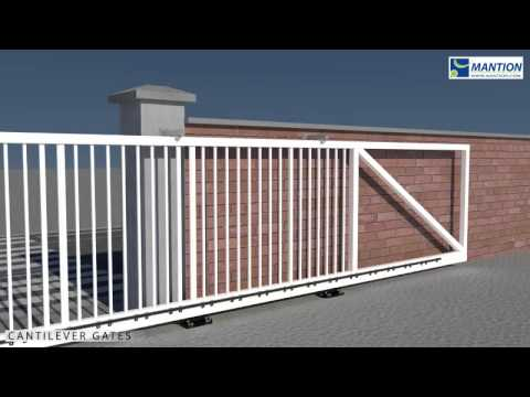 Cantilever Sliding Gate Installation Video