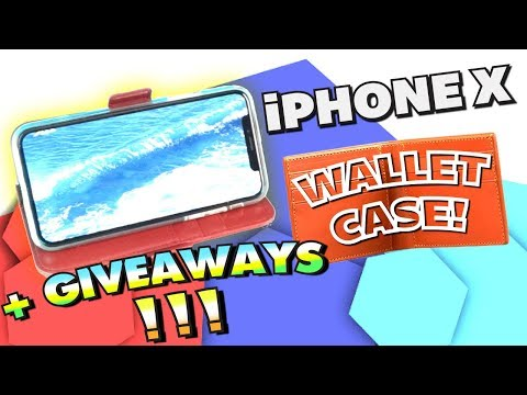 iPhone X GENUINE LEATHER CASE! + HUGE Giveaway! (Best iPhone X Cases)