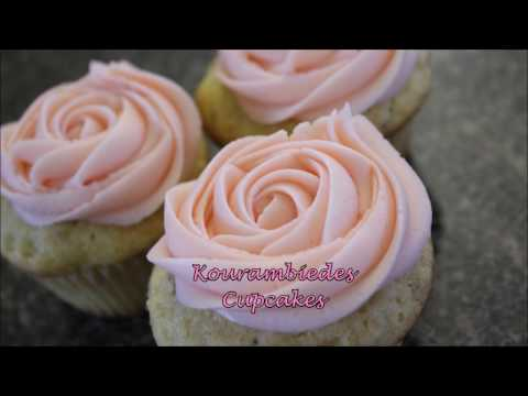 How to Make Vanilla Almond Cupcakes w/ Rose Water Buttercream