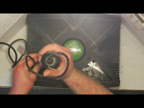 How to Window Mod your original Xbox console tutorial -  PART 1 of How to case mod my Original Xbox