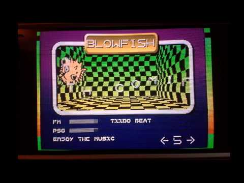 Tiido Beat by Jredd - Blowfish Sega Genesis Real Hardware