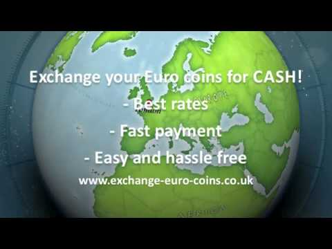 Exchange Euro Coins for Cash!