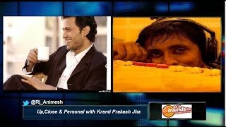Actor Kranti Prakash Jha with Rj Animesh live on 91.9 Friends Fm Kolkata