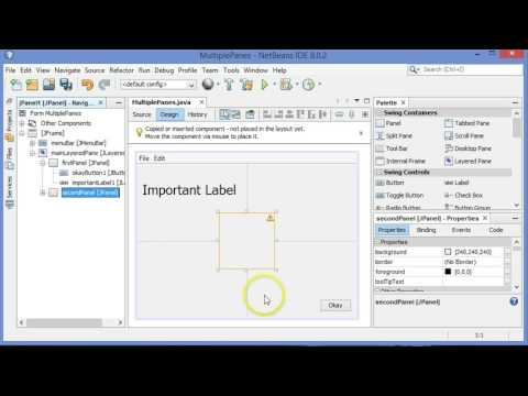 GUI design tips in NetBeans in Java