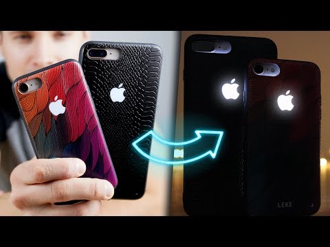 A Glowing Apple Logo iPhone Case Exists!