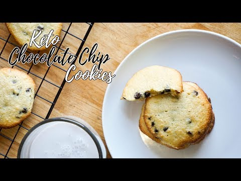 Keto Chocolate Chip Cookies | Low Carb Cookies Recipe