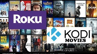 Download How To Get Kodi Content On Your Roku - Watch movies FREE Video