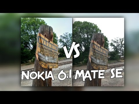 Nokia 6.1 vs Huawei Mate SE Camera Test Comparison