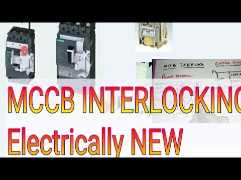 MCCB INTERLOCKING FOR ELECTRICALLY NEW